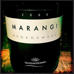 Wine - Marangi Negroamaro