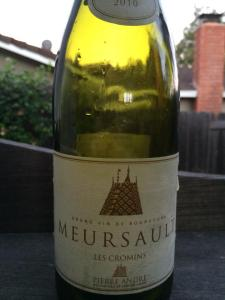 Wine - Meursault Label