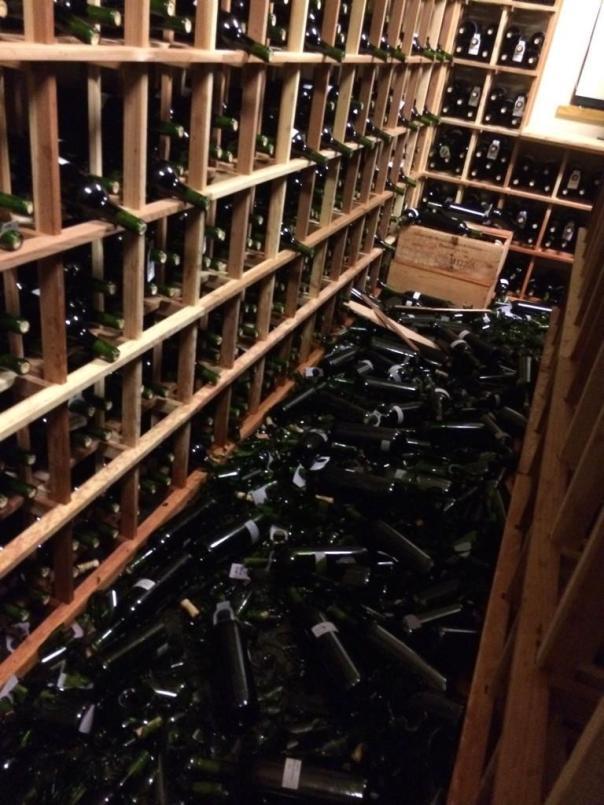 Wine - Napa Quake 2014-SilverOak