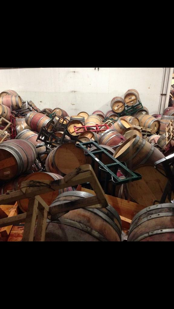 Wine - Napa Quake 2014