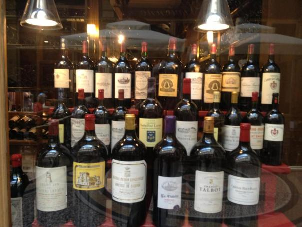 Wine - Paris Wine Shop Display