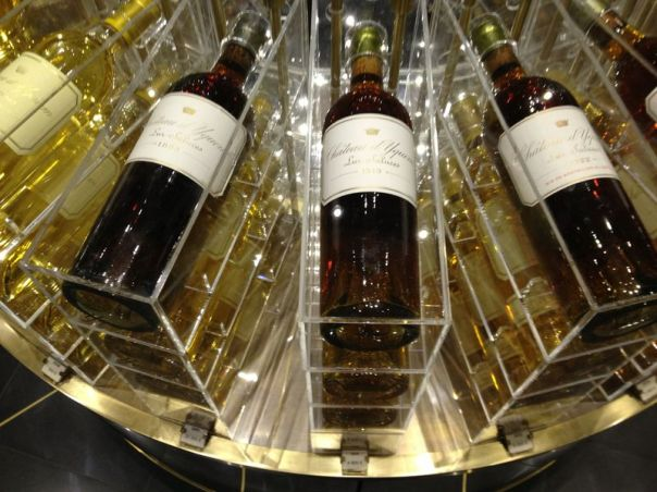 Wine - France 2013 - Lafayette Chateau d Yquem Display 2