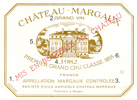 Wine - Bordeaux Label Decoder