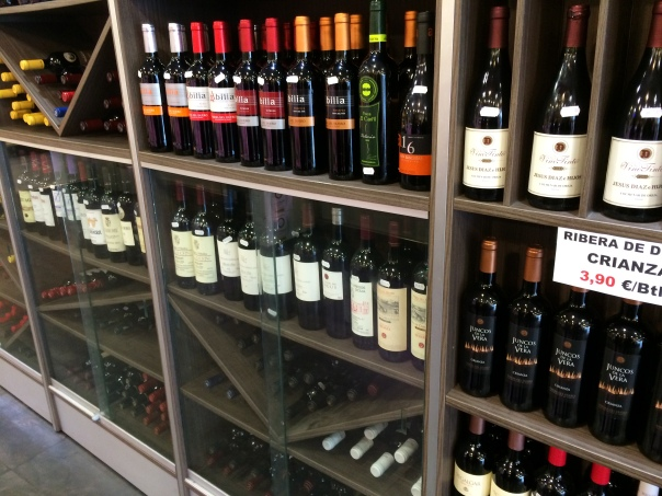 A Wine Shop in Madrid