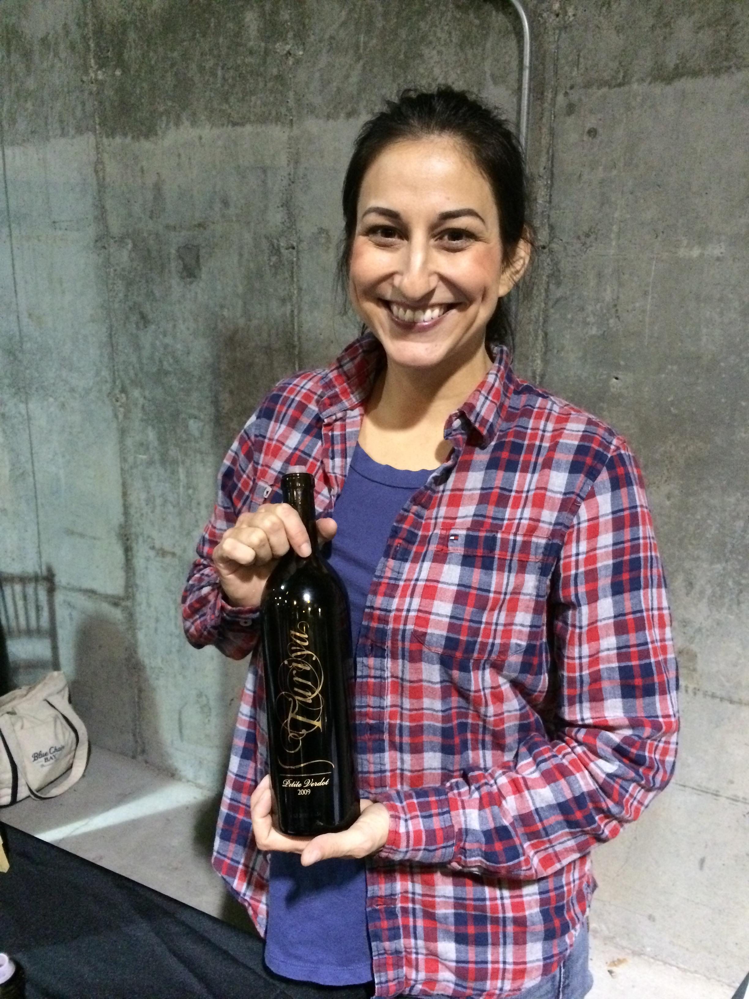 Angela Soleno of Turiya Wines.