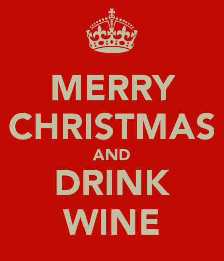 Wine - Christmas and Drink Wine