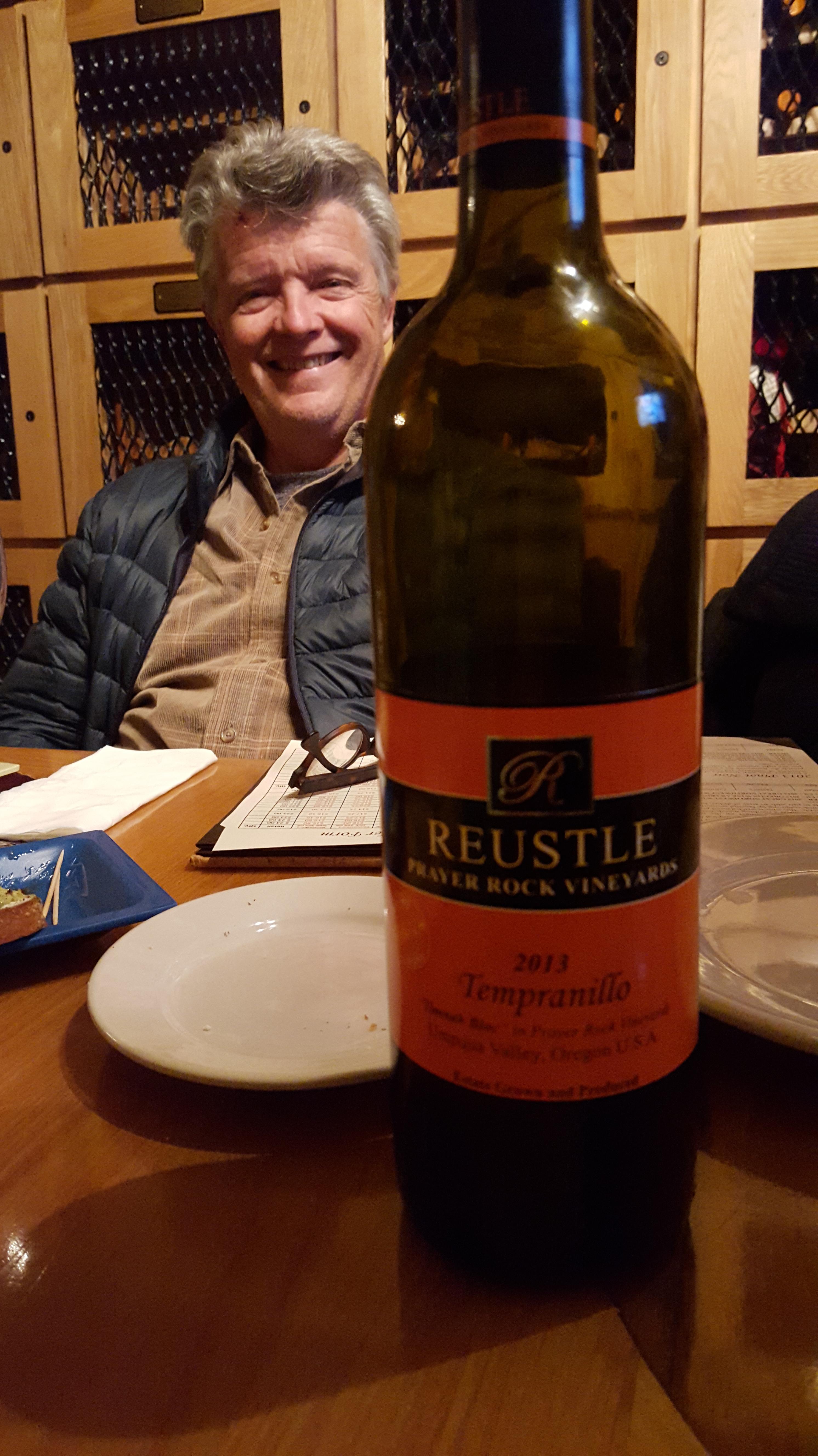 Jim at Reustle Wines