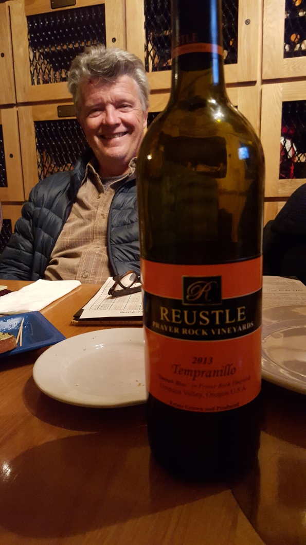 Jim at Reustle Wines