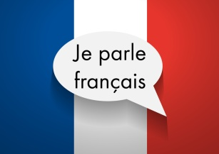 Vector Sign Speaking French