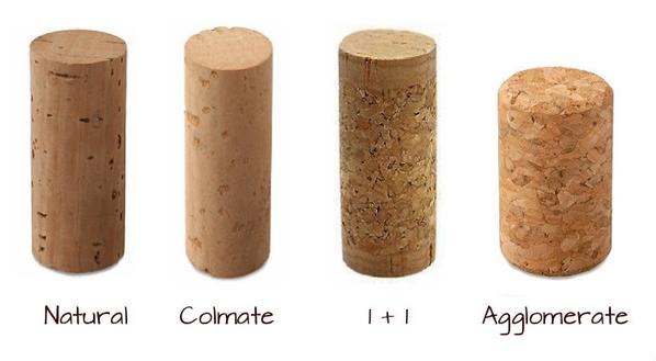 wine - chart - cork types