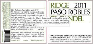 Wine - Labels Ridge