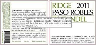 Wine - Labels Ridge