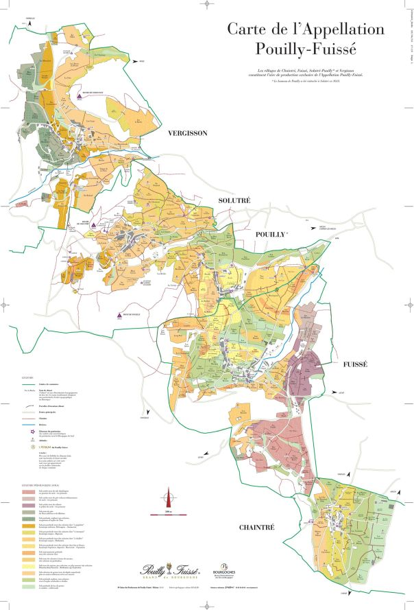 Pouilly Frisse Wine Map